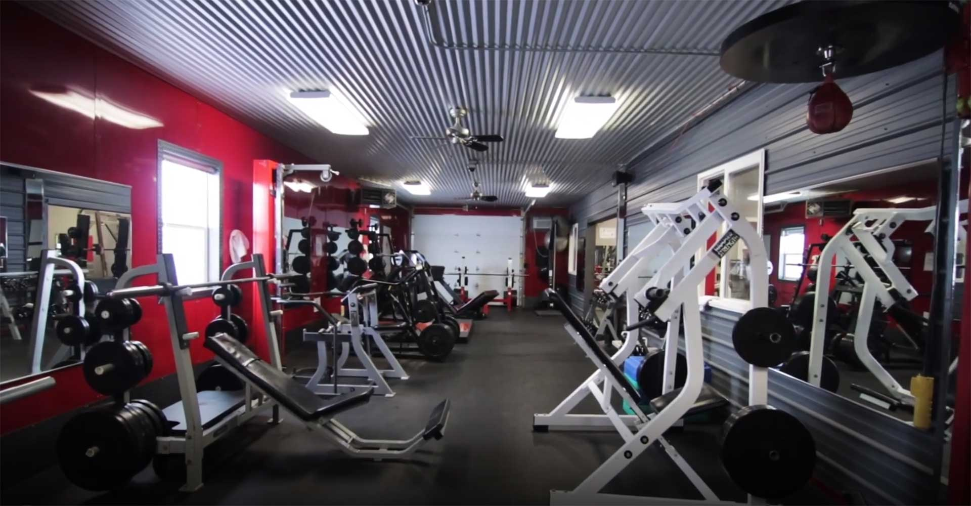 Iron Mike's Power Gym Section